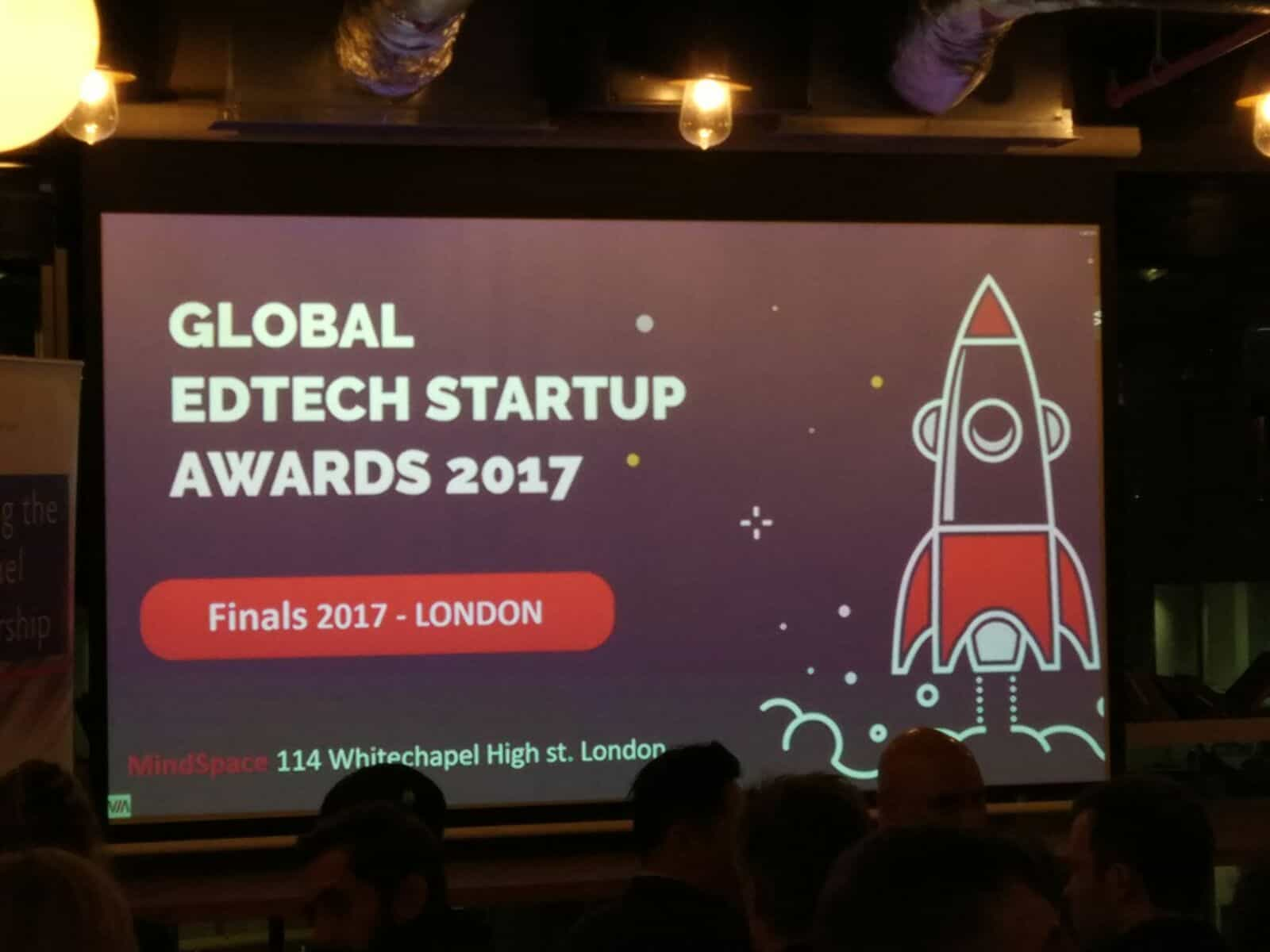 GLOBAL EDTECH STARTUP AWARDS 2017